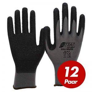Nitras 3520 EN388 CAT 2 Lot de 12 paires de gants de travail en latex nylotex Taille 10 de la marque NITRAS NYLOTEX image 0 produit
