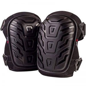 NoCry Professional Knee Pads with Heavy Duty Foam Padding and Comfortable Gel Cushion, Strong Double Straps and Adjustable Easy-Fix Clips … de la marque NoCry image 0 produit