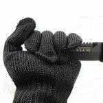 Noir De Gants De Protection Anti-coupe, Gants De Sécurité Classe 5, Main-perforation Des Gants Industriels Résistant à L'usure Et Résistant à La Chaleur de la marque weiwei image 2 produit
