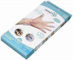 Novolife Sensilife Gant Non Poudré Transparent Taille M de la marque Novolife image 0 produit