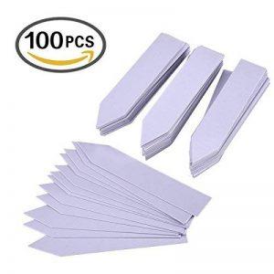 OUNONA 100pcs Etiquette plante en Plastique type Balise pour Jardin,Graine,pépinière(15 * 2.5CM) de la marque OUNONA image 0 produit