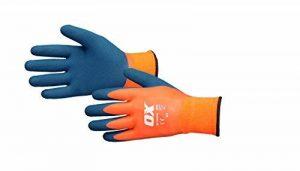 Ox Ox-s483910étanche thermique Gants en latex, Orange/bleu, Taille 10/XL de la marque XO image 0 produit