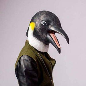 PartyCostume Deluxe Innovante Toussaint Costume Réunion Botanique Animalia Tête Masque Le Pingouin de la marque PartyCostume image 0 produit