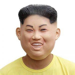 PartyCostume Deluxe Innovante Toussaint Costume Réunion Botanique homme Tête Masque Kim Jong - un de la marque PartyCostume image 0 produit
