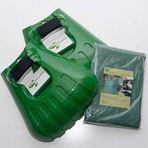 Pelle ramasse-feuilles à dents de Mixitude dotée d'un coussinet de protection au poignet et d'un sac à déchets végétaux d'une contenance de 72 gallons de la marque Mixtitude image 0 produit