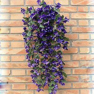 Plante retombante fleurie artificielle Bouquet de violettes de la marque LHLhouse image 0 produit