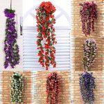 Plante retombante fleurie artificielle Bouquet de violettes de la marque LHLhouse image 1 produit