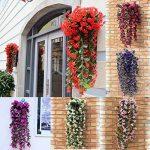 Plante retombante fleurie artificielle Bouquet de violettes de la marque LHLhouse image 3 produit