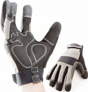 Premium Gants de travail, montage, mécanique, gants, gants de protection, gants de sécurité de la marque AlphaUnity image 0 produit