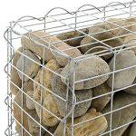 [pro.tec] 1x gabions (40 x 100 x 30 cm) gabions en pierre, mur en pierre, paroi en pierre, espaliers de la marque Pro Tec image 3 produit