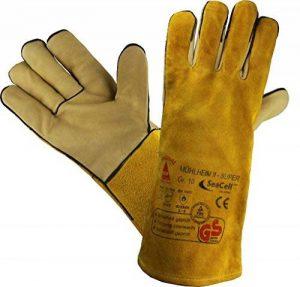 Profi Gants de travail Gants de sécurité pour les soudeurs MÜHLHEIM-II-SUPER jaune - Tailles: 8 a 12 de la marque workAnt image 0 produit