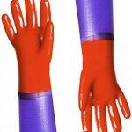 Reis Extra long bras de gants de travail pour un travail mécanique Gants imperméables | | Idéal pour bassin Care Gants ou dépolie Gants | EN388& En420| Taille: 10.5 de la marque REIS image 2 produit