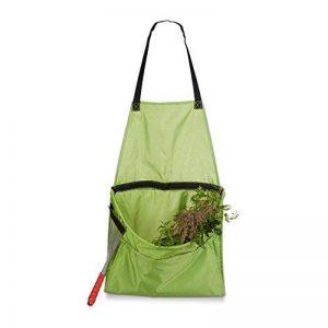 Relaxdays Tablier de jardinage pour le jardin récolte protection vêtement, vert de la marque Relaxdays image 0 produit