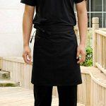 ROSENICE Tablier avec Poches Unisexe Tablier de Cuisine (Noir) de la marque ROSENICE image 1 produit