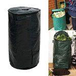 Sac de compost, Homemade Fermente Sac de compost Bio, Compost de cuisine de déchets Sac poubelle reste 45 x 80cm / 17.7 x 31.5inch Green de la marque PROKTH image 2 produit