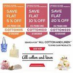 """Sac de produits réutilisables Muslin Organic - Set de 6 (2 grands, 2 moyens, 2 petits) Tous les sacs de produits en coton organique naturel de coton et de lin GOTS Approved (2 of Lg., Med. & Sm.) (8x10 """", 10x12"""", 15x12 ')) de la marque All Cotton and Line image 2 produit"""