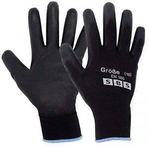SBS Lot de 12paires de gants de travail en nylon Taille 10 de la marque SBS - Schlößer Baustoffe image 0 produit