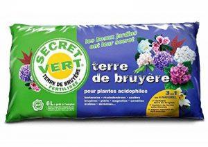 Secret Vert - Terre de bruyère, le terreau pour plantes acidophiles - 6 L de la marque Secret Vert image 0 produit