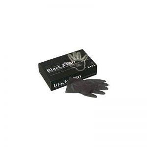 Sibel - Gant Latex Noir Satin Small - Contenance : 20Pcs de la marque Sibel image 0 produit