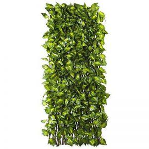 Sodipa Treillis Osier 1 x 2 m Feuilles Vertes-Jaunes de la marque Sodipa image 0 produit