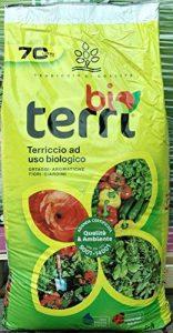 Terreau biologique Terri Bio pour légumes et aromates fleurs jardins Sac de 70litres de la marque Brill image 0 produit