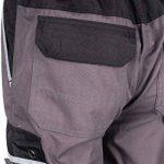 TMG® - Pantalon de travail style cargo - poches pour genouillères - gris de la marque TMG image 1 produit