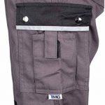 TMG® - Pantalon de travail style cargo - poches pour genouillères - gris de la marque TMG image 2 produit