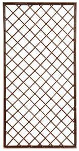 Verdemax 5799rectangulaire 1.2x 0.6m en osier fixe Treillis–Naturel de la marque Verdemax image 0 produit